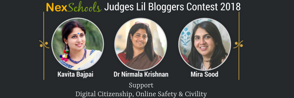 Judges NexSchools Kids Blog Contest School blog for children