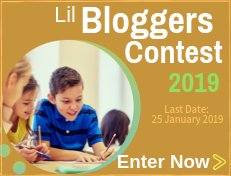 Lil Bloggers Contest 2019 for kids 8 to 18 years Middle Schoolers High School students from India & UK USA Australia Indonesia Canada Singapore Egypt Nigeria Africa