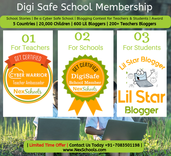 NexSchools Digi Safe Membership Cyber Safety Teachers Training Kids Blogging