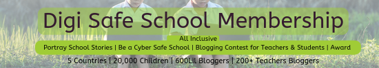 School Digi Safe School Membership , Cyber Safety Membership for K12, Teachers training for teachers, Middle School Blogging contest for free