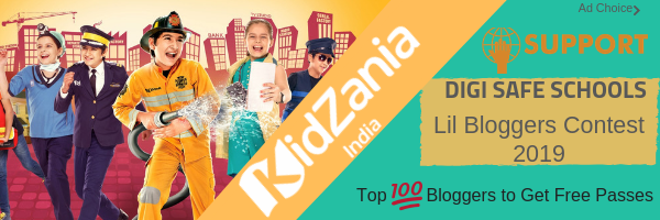 Win Exciting Prizes from KidZania Participate Lil Bloggers Contest 2019 for 8 to 18 years