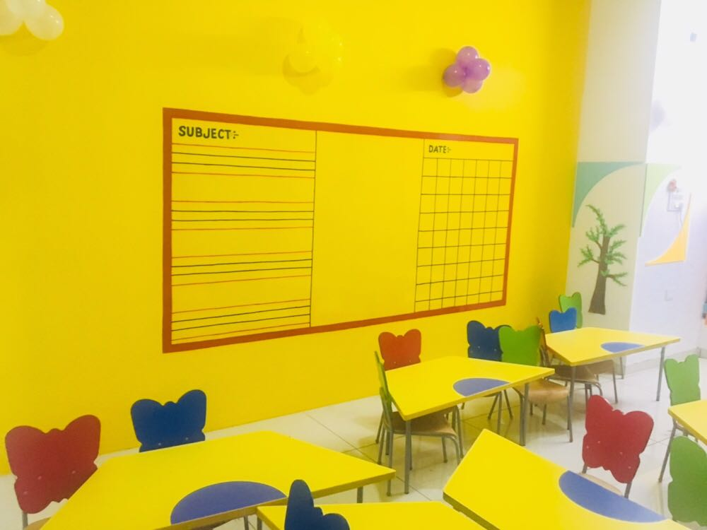 Writable walls in classroom install now