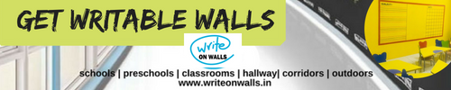 Write on walls for schools preschools classrooms