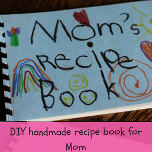Mom Recipe Book DIY