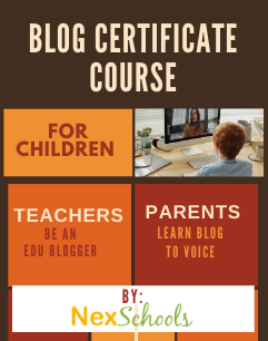 Blog writing course for children and teachers, How to start a blog for kids?, Kids blog space for grade 3 to 12, Learn blogging,