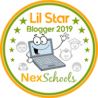 Lil Star Blogger Badge Earn your Best blog Badge students kids children where to blog for kids