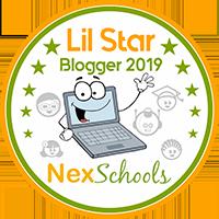 Lil Star Blogger Badge Earn your Best blog Badge students kids children where to blog for kids