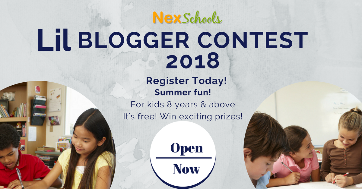 Blog Contest for School Students