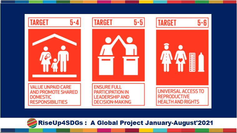 SDG Gender Equality, SDG 5 , NexSchools Media Partner coverage for RiseUp4SDGS
