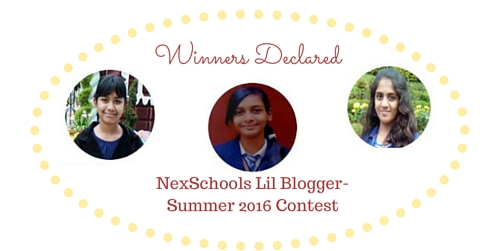 Winners NexSchools Kids Blog