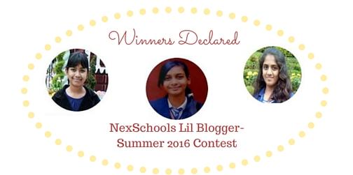 Winners NexSchools Kids Blog