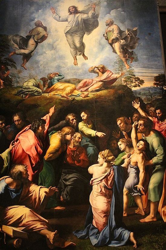 The Transfiguration by Raphael, Vatican NexSchools