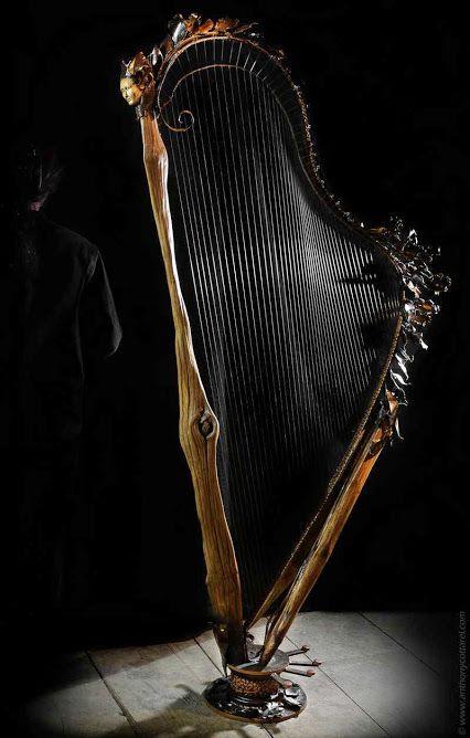 Celtic Harp Steiner Art