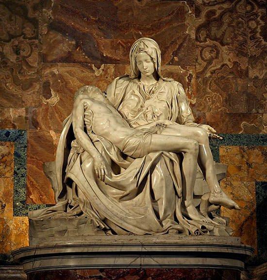 Pieta-1499- Michelangelo NexSchools
